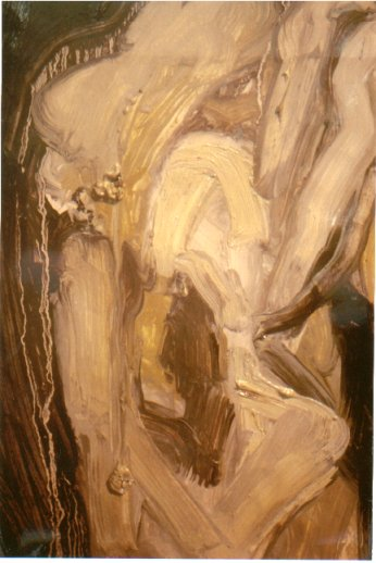 Study For Trust 2000 In Private Collection